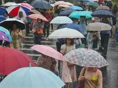 北台湾2波转湿凉  一张图秒懂下周降雨变化