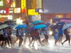 东北风水气到 中部以北明晚起变天 2地严防大雨